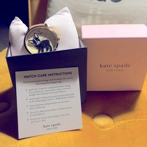Kate Spade Antoine Watch Vachetta Leather band NEW